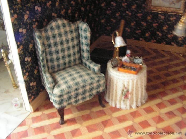 Casas de Muñecas: Casa de muñecas colonial 60cmx65cm altox38cm de fondo con muebles - Foto 11 - 42905158