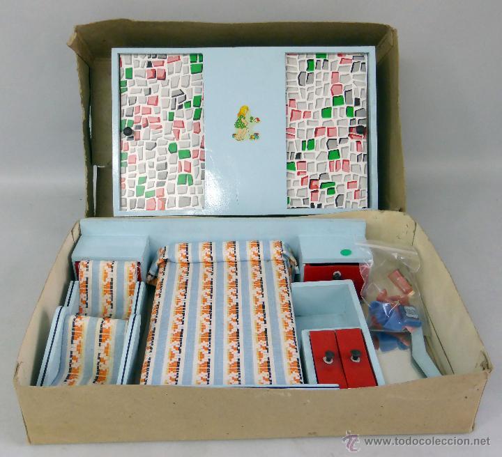 caja dormitorio casa muñecas muebles cama armar - Comprar Casas de ...