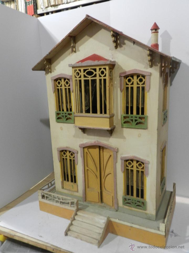 Antigua casa de mu ecas principio s xx con sus comprar for Casas de muebles online