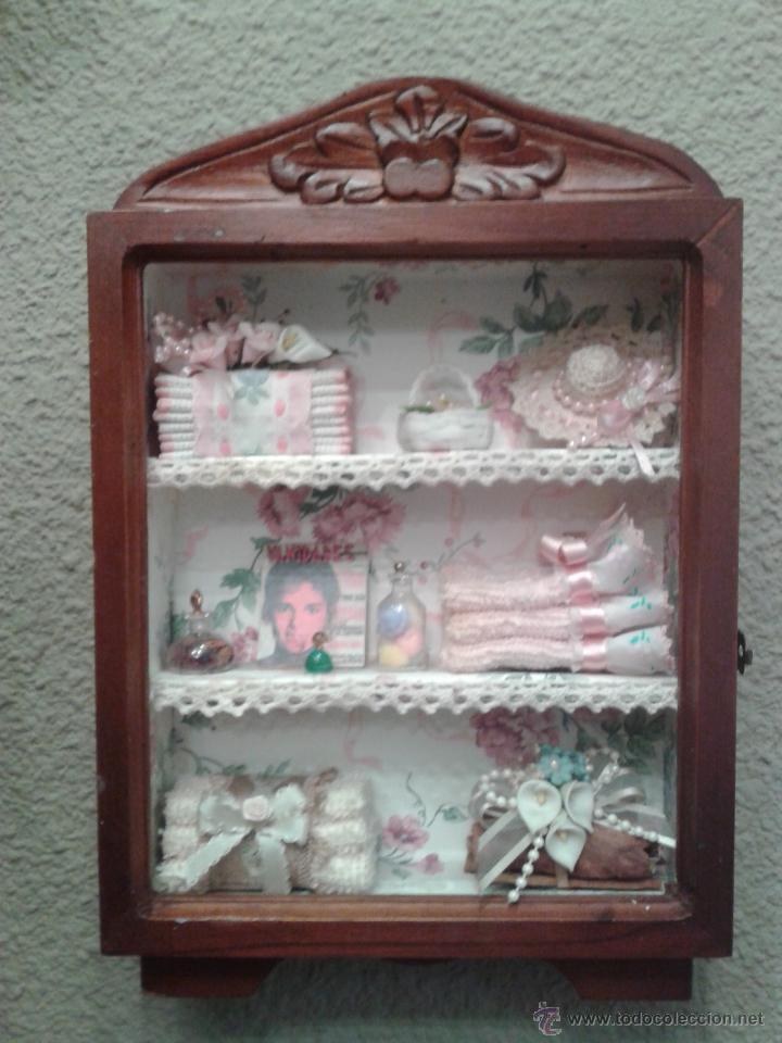 Vitrina expositora casa de mu ecas con miniatur comprar for Complementos casa