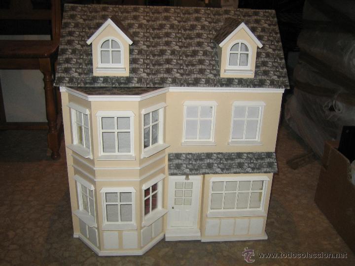 Maravillosa casa de mu ecas victoriana nueva comprar for Decoracion de casas victorianas