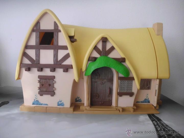 Preciosa casa de blancanieves y los siete enani comprar - Casa de blancanieves y los 7 enanitos simba ...