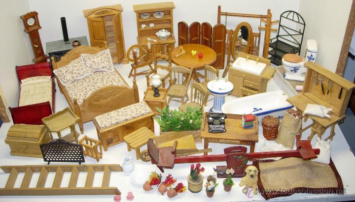 gran lote muebles de madera y porcelana para ca - Comprar Casas de ...