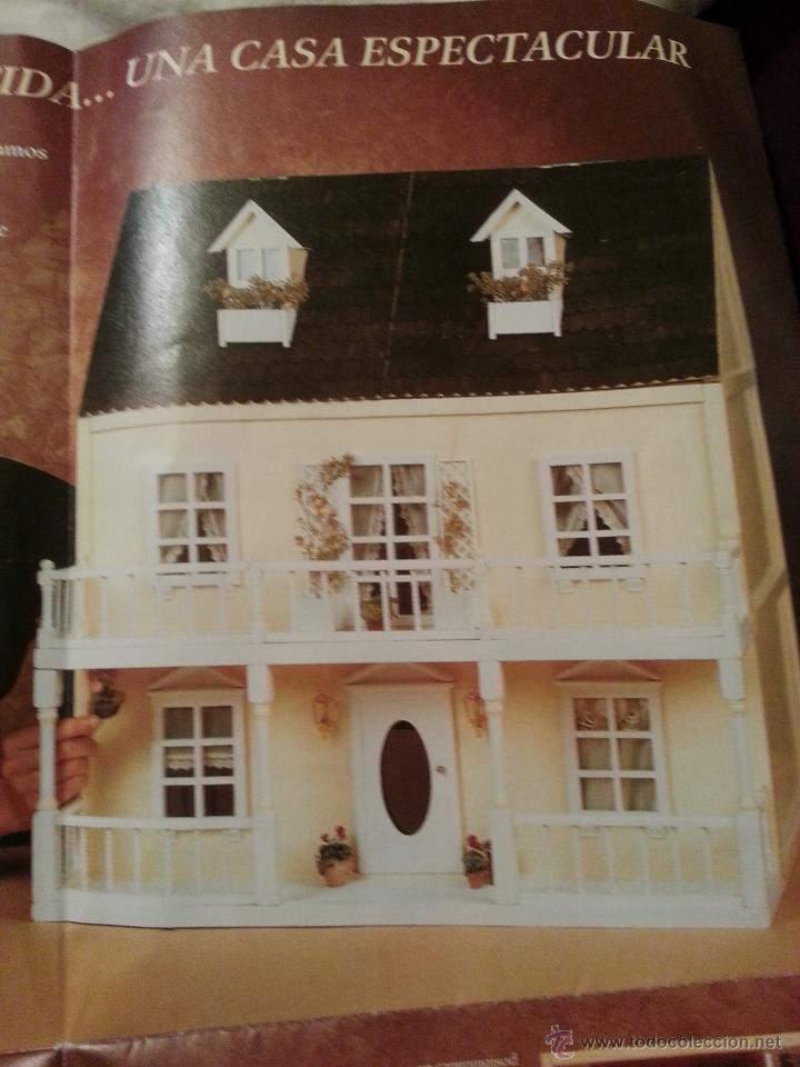 Casa de mu ecas de madera para montar comprar casas de mu ecas mobiliarios y complementos en - Decoracion de casas de munecas ...