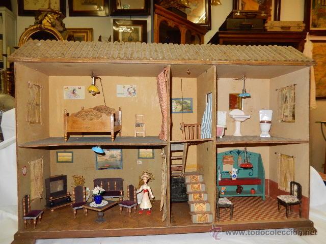 Casas de Muñecas: Casa de muñecas. Siglo XX. - Foto 2 - 47496377
