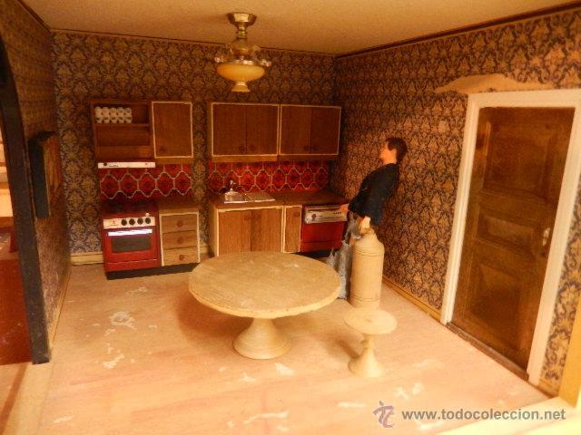 Casas de Muñecas: Casa de muñecas. Años 60. - Foto 16 - 47806965