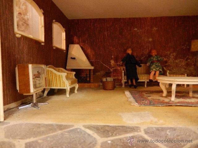 Casas de Muñecas: Casa de muñecas. Años 60. - Foto 26 - 47806965