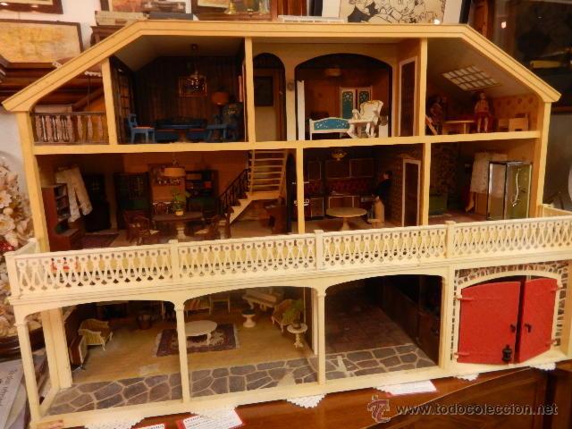 Casas de Muñecas: Casa de muñecas. Años 60. - Foto 28 - 47806965