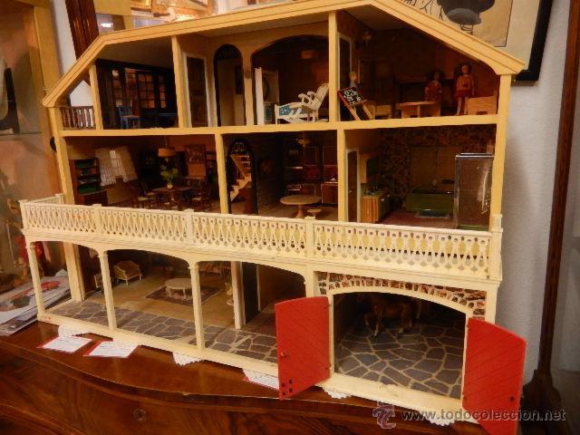 Casas de Muñecas: Casa de muñecas. Años 60. - Foto 29 - 47806965