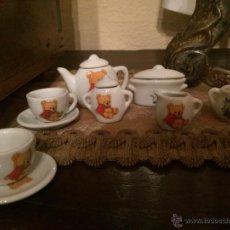 Casas de Muñecas: JUEGO DE CAFE DE JUGUETE PARA MUÑECAS MINIATURA AÑOS 80. Lote 47908430