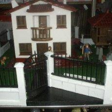 Casas de Muñecas: CASA ASTURIANA CON HORREO ,MAQUETA COMPLETA CON PERSONAJES Y ACCESORIOS(VER FOTOS Y LEER DESCRIP. Lote 48958613