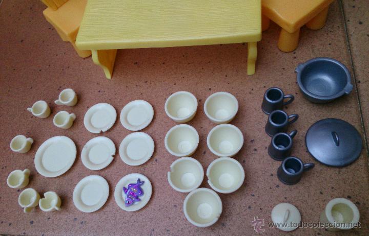 Casas de Muñecas: Lote muebles accesorios originales Enanitos Disney - Foto 2 - 50179542