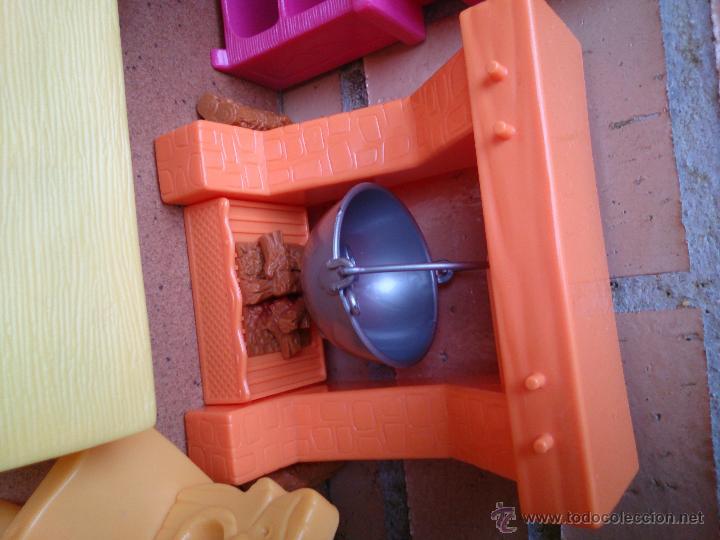 Casas de Muñecas: Lote muebles accesorios originales Enanitos Disney - Foto 4 - 50179542