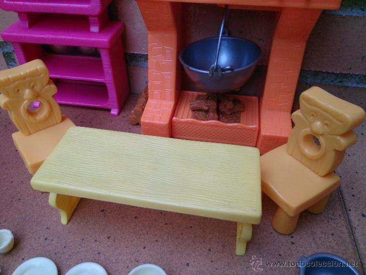 Casas de Muñecas: Lote muebles accesorios originales Enanitos Disney - Foto 5 - 50179542