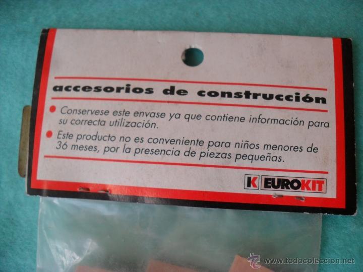 Casas de Muñecas: bolsa con ladrillos tipo hidraulico para casa de muñecas,nuevos,precio esta en pesetas,eurokit - Foto 3 - 50366404