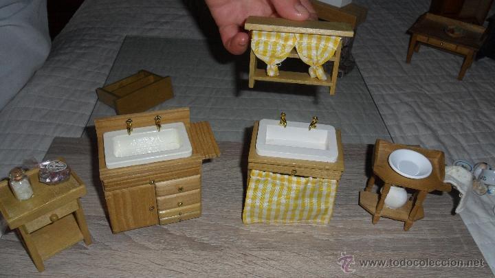 Accesorios De Baño Casa De Muñecas Miniaturas