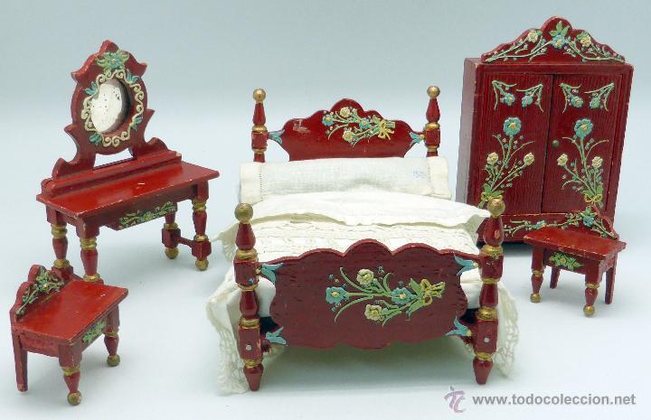 Conjunto dormitorio muebles casa mu ecas casa p comprar for Muebles casa de munecas