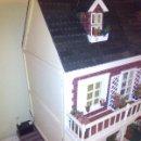 Casas de Muñecas: ESPECTACULAR CASA DE MUÑECAS CON TODOS LOS DETALLES, ILUMINACIÓN, MUCHAS PIEZAS HECHAS A MANO. Lote 53233139
