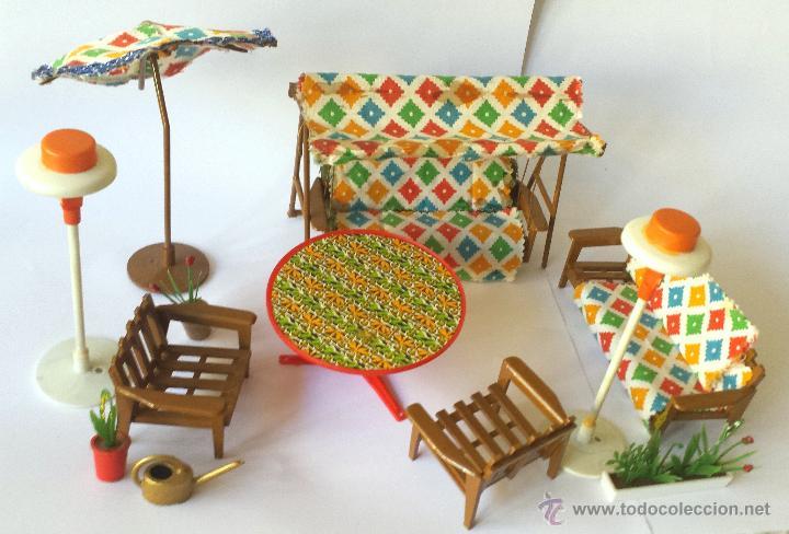 lote familia hogarín muebles mobiliario jardín - Comprar Casas de ...