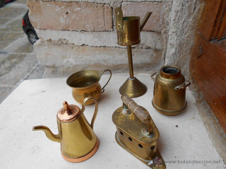 Antiguos objetos de metal para casa de mu ecas comprar for Compra de objetos antiguos