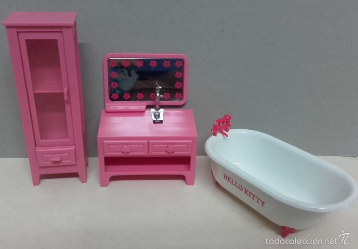 Lote muebles accesorios ba o coleccion casa mu comprar - Accesorios para casa de munecas ...
