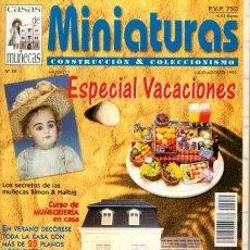 Casas de Muñecas: CASAS DE MUÑECAS - MINIATURAS - CONSTRUCCION & COLECCIONISMO 1999. Lote 56604686