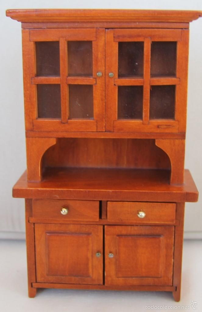 Aparador o alacena de madera para casa de mu ec comprar for Alacenas de madera