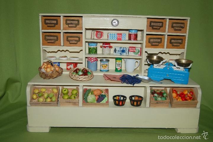 Casas de Muñecas: tienda frutería alemana de madera - Foto 2 - 56916685