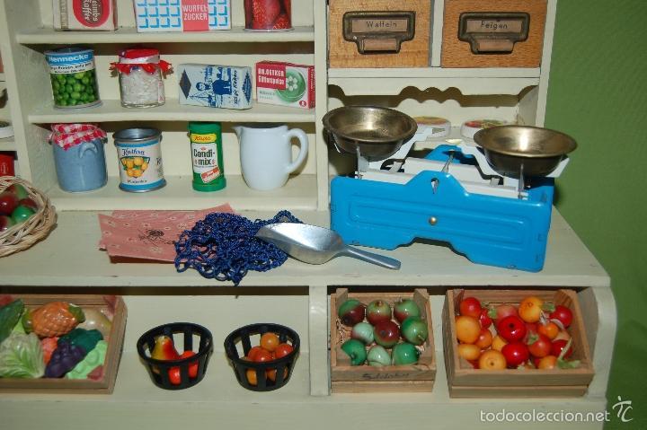 Casas de Muñecas: tienda frutería alemana de madera - Foto 3 - 56916685