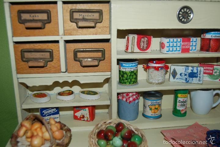Casas de Muñecas: tienda frutería alemana de madera - Foto 6 - 56916685