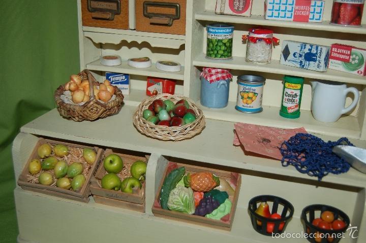 Casas de Muñecas: tienda frutería alemana de madera - Foto 8 - 56916685