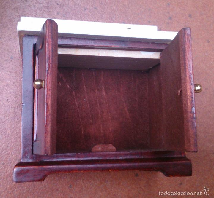 Casas de Muñecas: Muebles casa de muñecas, lavamanos baño madera - Foto 4 - 79630207