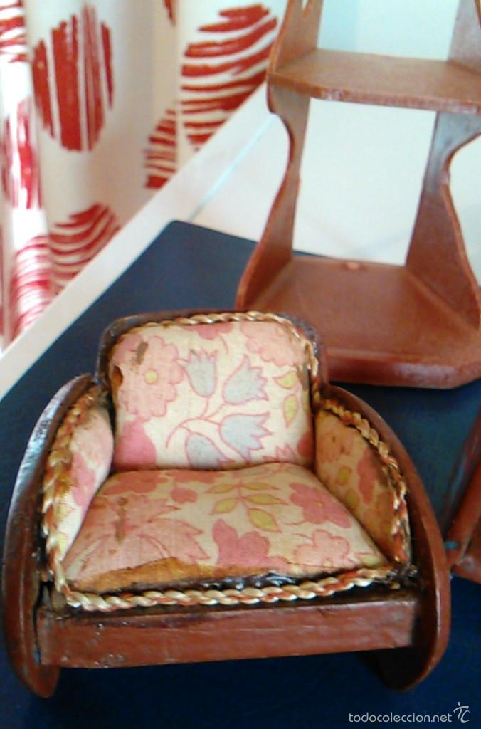 Muebles antiguos para casa de mu ecas a os 50 comprar for Muebles casa de munecas