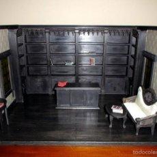 Casas de Muñecas: TIENDA DE ESTILO GOTH, DARK, TODA EN MADERA, HECHA A MANO POR ARTISTA, ESCALA 1:12. Lote 60805571