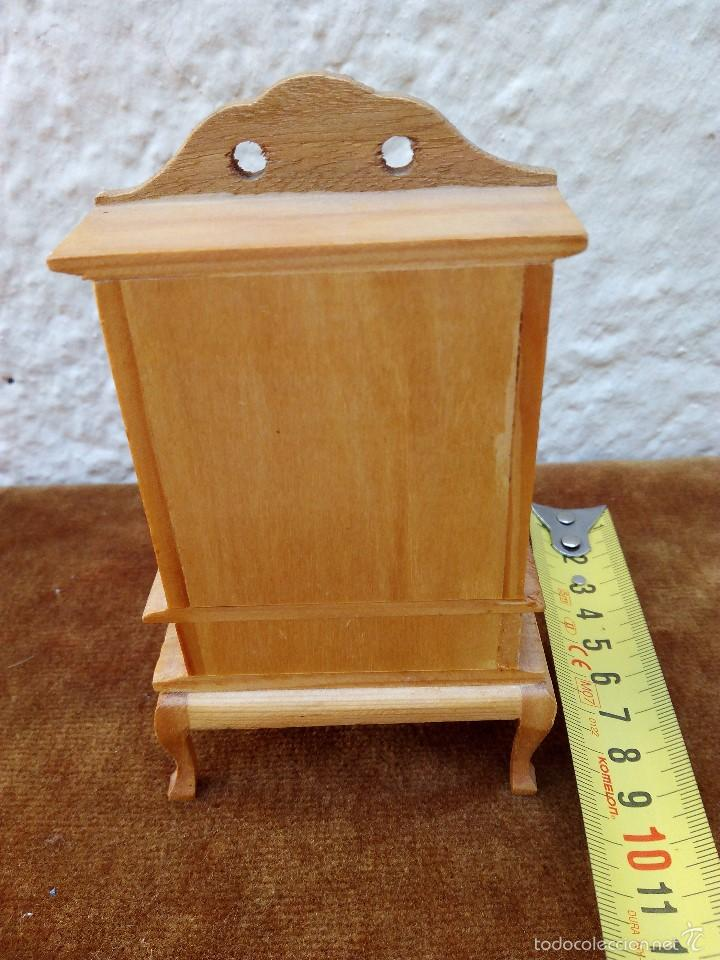 Casas de Muñecas: Mueble de madera miniatura para casa de muñecas - Foto 2 - 61111779