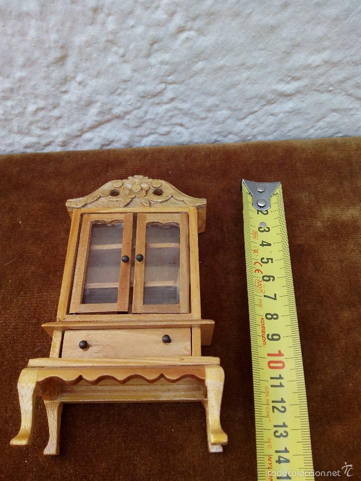 Casas de Muñecas: Mueble de madera miniatura para casa de muñecas - Foto 3 - 61111779