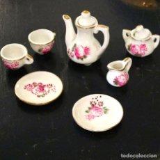 Doll houses - juego de cafe te casa de muñecas miniatura porcelana vintage - 61499027