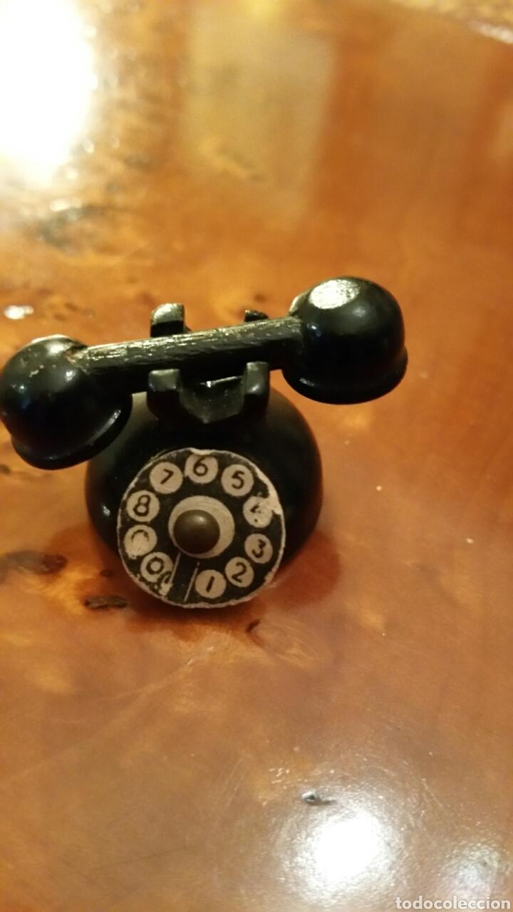 COMPLEMENTO CASA DE MUÑECAS. AÑOS 40. TELÉFONO. (Juguetes - Casas de Muñecas, mobiliarios y complementos)