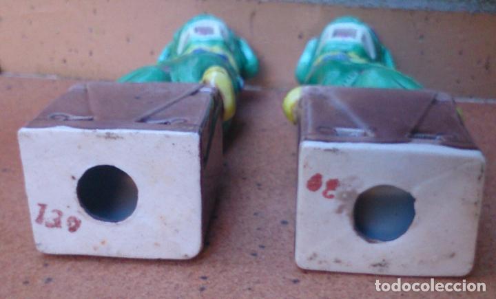 Casas de Muñecas: Pareja de perros Foo de porcelana, tamaño casa de muñecas - Foto 5 - 64143767