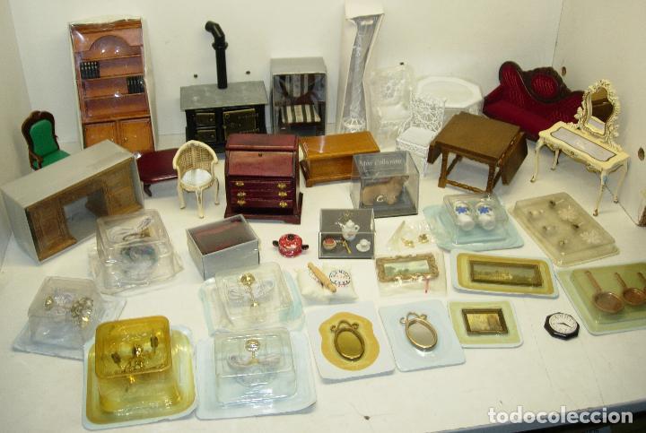 gran lote muebles de madera,lámparas,porcelana, - Comprar Casas de ...