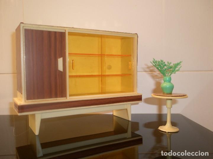 Vajilla y muebles de hogar n a os setenta comprar casas de mu ecas mobiliarios y complementos - Muebles para vajilla ...