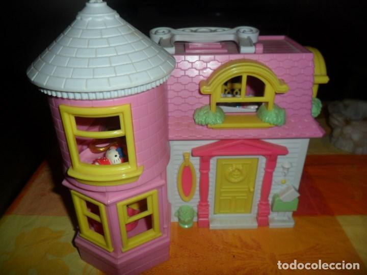 CASA HELLO KITTY Y ACCESORIOS (Juguetes - Casas de Muñecas, mobiliarios y complementos)
