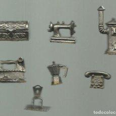 Casas de Muñecas: COLECCION DE MUEBLES METALICOS PARA CASA DE MUÑECAS.VER FOTOS. Lote 70286617