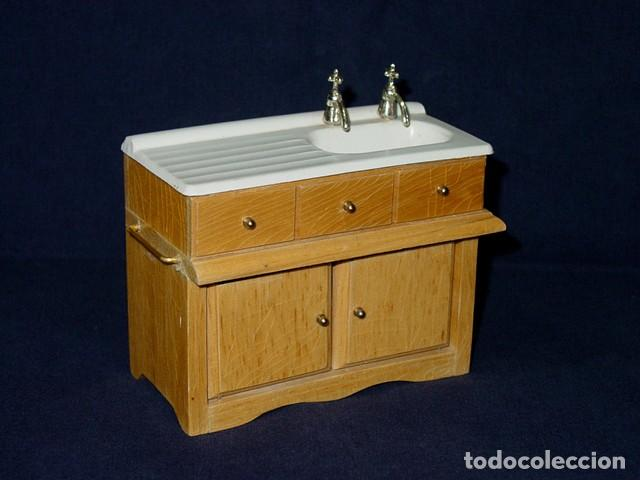 Vintage. mueble fregadero cocina o lavabo de ba - Verkauft durch ...