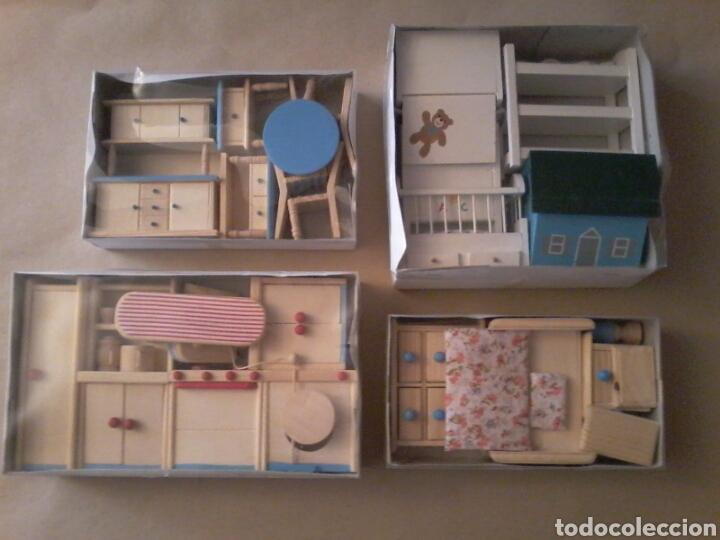 Muebles de madera.Cocina,comedor,habitación infantil y habitación  adultos.Nuevos en sus cajas.