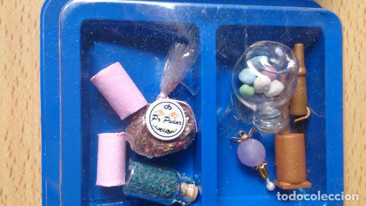 Casas de Muñecas: Lote accesorios casa de muñecas, frascos - Foto 4 - 94007545