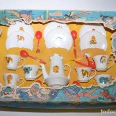 Casas de Muñecas: ANTIGUO JUEGO DE CAFE - MARCA LAFREDO 20 PIEZAS. Lote 96640967