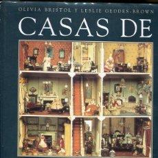 Casas de Muñecas: CASAS DE MUÑECAS. MINIATURAS DE LA VIDA COTIDIANA Y LOS ESTILOS ARQUITECTONICOS DESDE EL SIGLO XVII . Lote 96703087