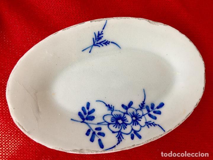 Casas de Muñecas: Vajilla porcelana tetera casa de muñecas pintada a mano 1940 2 servilletas de hilo panera y lechera - Foto 12 - 97366711