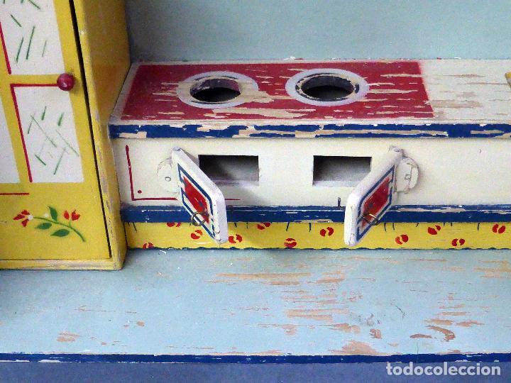 Cocina madera denia habitaci n con muebles a os comprar - Muebles anos 50 madrid ...
